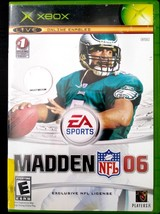 Madden NFL 06 (Microsoft Xbox, 2005) Complete - $4.99