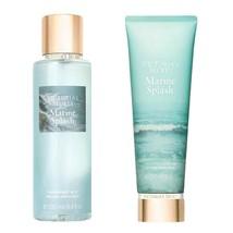 Victoria's Secret MARINE SPLASH Fragrance Body Mist 8.4 oz Spray & 8 oz ... - $29.02