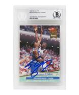 Shaquille O'Neal Signed Magic 1992-93 Fleer Ultra Rookie Card #328 Beckett SLAB - $395.01