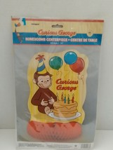 Curious George ~ (1) Honeycomb Centerpiece ~ Birthday Party Decoration - $7.69