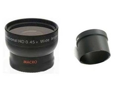 Wide Conversion Lens + CLA-12 Tube Adapter bundle for Olympus XZ-1 XZ1 XZ-2 - $26.09