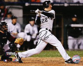 SCOTT PODSEDNIK Signed White Sox 2005 World Series Walk-Off HR 8x10 Phot... - $53.28
