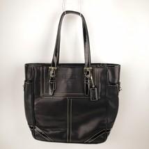 "Coach F10412 ""Leather Black Hampton Gallery Tote Purse Hand Bag  - $39.99"