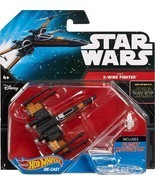 HOT WHEELS STAR WARS STARSHIP SERIES - W-WING FIGHTER - $134,26 MXN