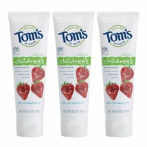Tom's of Maine Anticavity Fluoride Children's Toothpaste, Kids Toothpast... - $12.50
