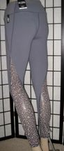 Victoria's Secret Sport Knockout Tight Gray Leopard Mesh Cut Out Leggings XL image 4