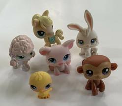 Lps Littlest Pet Shop Magnet Animals #95, 152, 87, 124, 57, 13 Lot Of 5 - $23.75