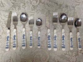 Vintage,10-pc Blue Willow Flatware, Service fo 2 - $47.45