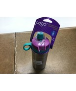 Pogo 12oz Vacuum Insulated Stainless Steel Kids' Water Bottle - Purple/Teal - $14.50