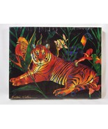 Tropical Tiger 958 by Barbara Wallace Jigsaw Puzzle 550+ Pieces Vintage ... - $8.90