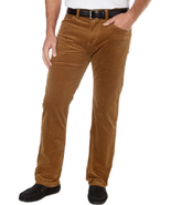 Kirkland Signature™ Men's 5-Pocket Corduroy Pants, Nut Brown, 44x30 - $22.76