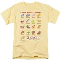 Dum-Dums T-shirt Know Your Flavor retro candy classic lollipop tee DUM113 Yellow image 2