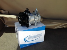02 05 jeep liberty 3.7 ac air conditioning compressor with clutch  2  thumb200