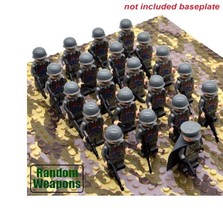 21PCs/set WW2 Army Military Italy Building Blocks Small Soldier Officer ... - $24.99