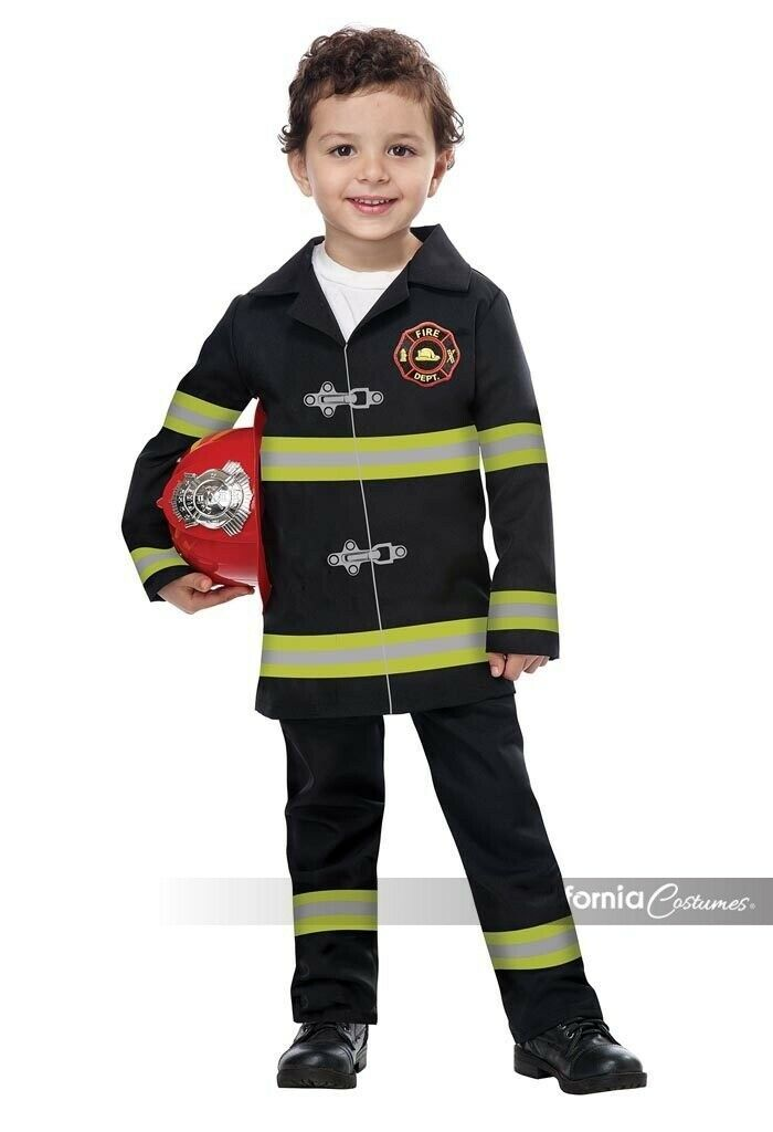 Californie Costumes Junior Fire Chief Enfant Halloween Costume 00187
