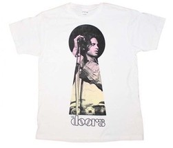 The Doors Keyhole Jim Morrison White T-Shirt Men's Licensed Band Tee S-XL - $25.61