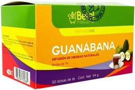 Premium Guanabana Graviola Tea Bags - Delicious Superfood - Betel Natural - $9.95