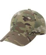 MultiCam Ripstop Tactical Hat Military Baseball Cap Adjustable Camo OCP ... - $14.99