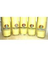 5 Kanter Brau Obernai French Beer Glasses - $24.95