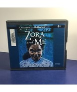 VINTAGE AUDIOBOOK CD BOOK IN BOX CASE ZORA AND ME CANDLEWICK VICTORIA BO... - $14.85