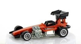 Vintage Loose Hot Wheels Orange Super Modified Track Car
