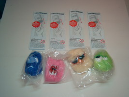 Kinder - 2002 Fingerfreaks - complete set + 4 papers - surprise eggs - $4.50