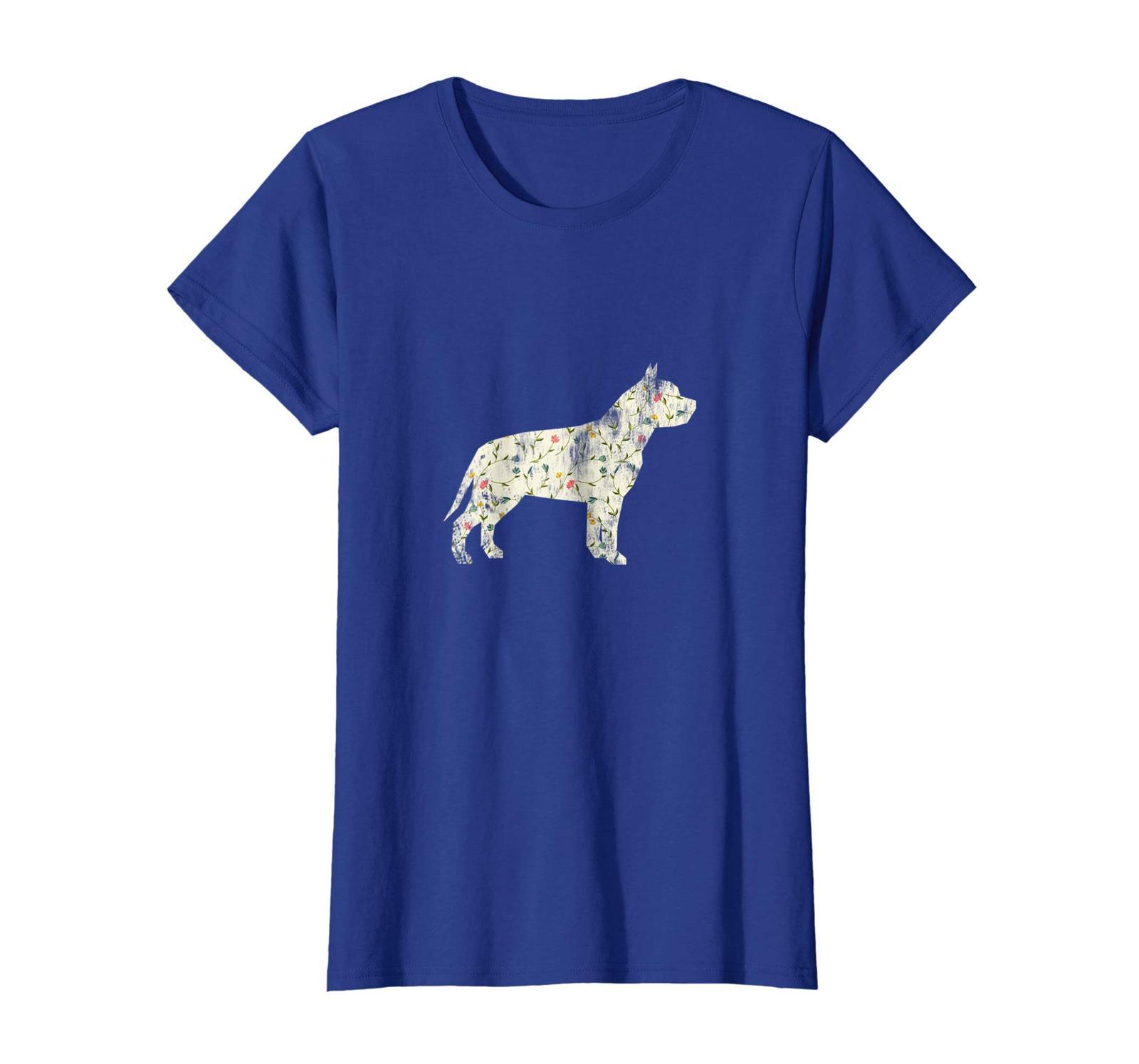 Dog Fashion - Vintage Floral Pitbull Shirt Dog Lover Dog Owner Gift Wowen image 3