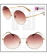 GUCCI Round Techno Color GG4273S Gold Violet Mirrored Metal Sunglasses 4273 - $244.53