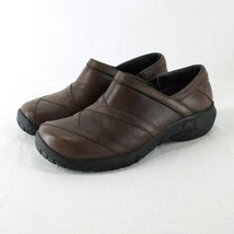Merrell Primo Patch Loafer Womens 7.5 Coffee Bean Brown Leather Slip On ... - $32.99