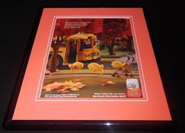 2014 Pepperidge Farms Goldfish 11x14 Framed ORIGINAL Vintage Advertisement - $32.36