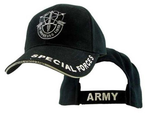 U.S. Army Special Forces With Logo Military Hat Baseball Cap Officially Licensed