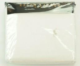 Ralph Lauren White Double Duvet Cover RRP £125 - $95.13