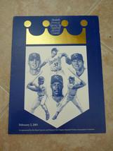 Kansas City Royals Feb 2 2001 30th Annual Baseball Awards Dinner Program... - $7.99