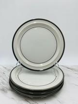 "Noritake Stoneware Odin Grey Pattern B961 Set Of 4 Salad Plates 8-1/2"" - $39.59"