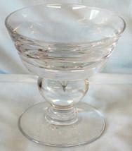"""Val St. Lambert Empire Sherbet Champagne Goblet 4 1/2"""" - $25.63"""
