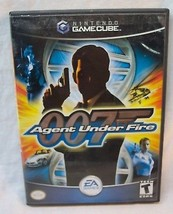JAMES BOND 007 in Agent Under Fire NINTENDO GAME CUBE GAME 2003 COMPLETE - $14.85