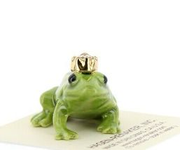 Birthstone Frog Prince April Simulated Diamond Miniatures by Hagen-Renaker image 6