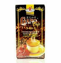 2 BOX x 20 sachet Gano Excel Cafe 3 in 1 of Coffee Ganoderma Reishi Halal  - $43.90