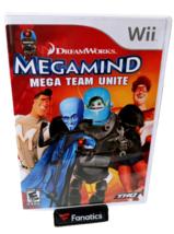 Megamind mega team Unite Wii Nintendo Game - $7.69