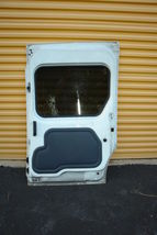 2010-13 Ford Transit Connect Rear Sliding Door W/ Glass Right Side RH image 6