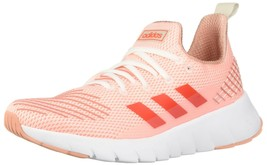 adidas Women's ASWEEGO, Clear Orange/Solar red/raw White, 10 M US - $60.69