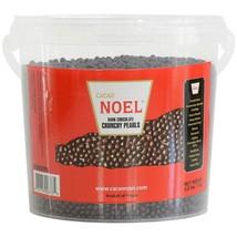 Dark Chocolate Crunchy Pearls - 1 pail - 2.2 lbs - $37.47