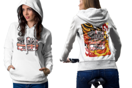 Eat Sleep Basket ball Repeat Womens White Classic Hoodie - $30.99+
