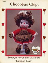 Chocolate Chip Dumplin Designs Lollipop Lane Crochet Doll Pattern Bookle... - $3.95