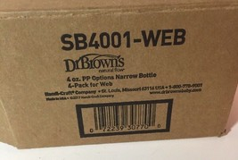 Dr. Brown's Options Bottle 4 Ounce 4-Pack NEW - $23.98