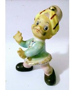 Ceramic Figurine of Boy in Tarboosh Made in Japan - $28.50
