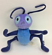 Disney Crikee Bugs Life Cricket Blue Bendable Applause Plush Stuffed Ani... - $38.62