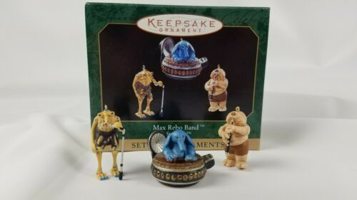 Hallmark Keepsake Ornament Set of 3 Star Wars Max Rebo Band 1999 image 1