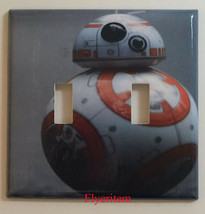 Star Wars BB8 BB-8 Light Switch Power Duplex Outlet Wall Plate Cover Home decor image 4