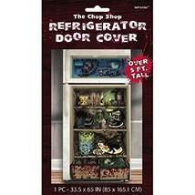 Amscan Haunted Asylum Halloween Chop Shop Refrigerator Door Cover Decora... - $7.99